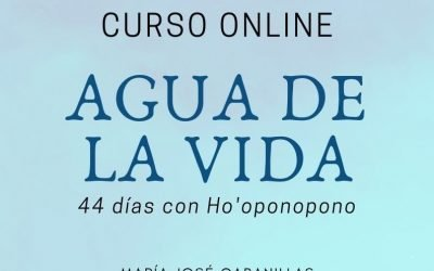 """AGUA DE LA VIDA – 44 DÍAS CON HO'OPONOPONO"""" – (25 de Julio)"""